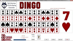 DINGO (Bingo for the Deaf)