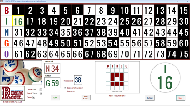 Bingo Hall Plus Version 3.2